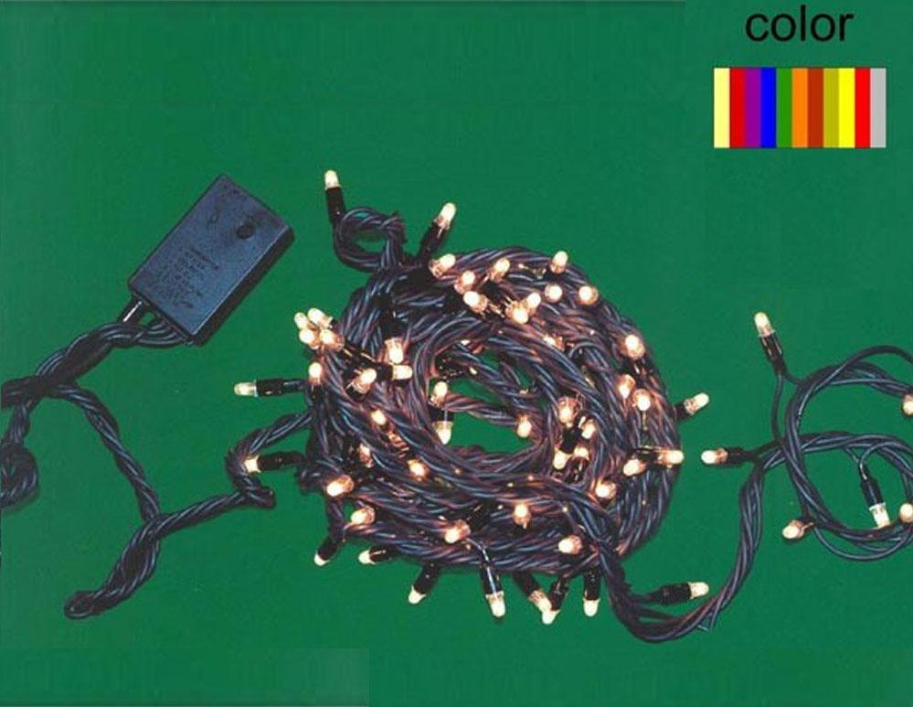 Guirnalda LED de colores para exteriores