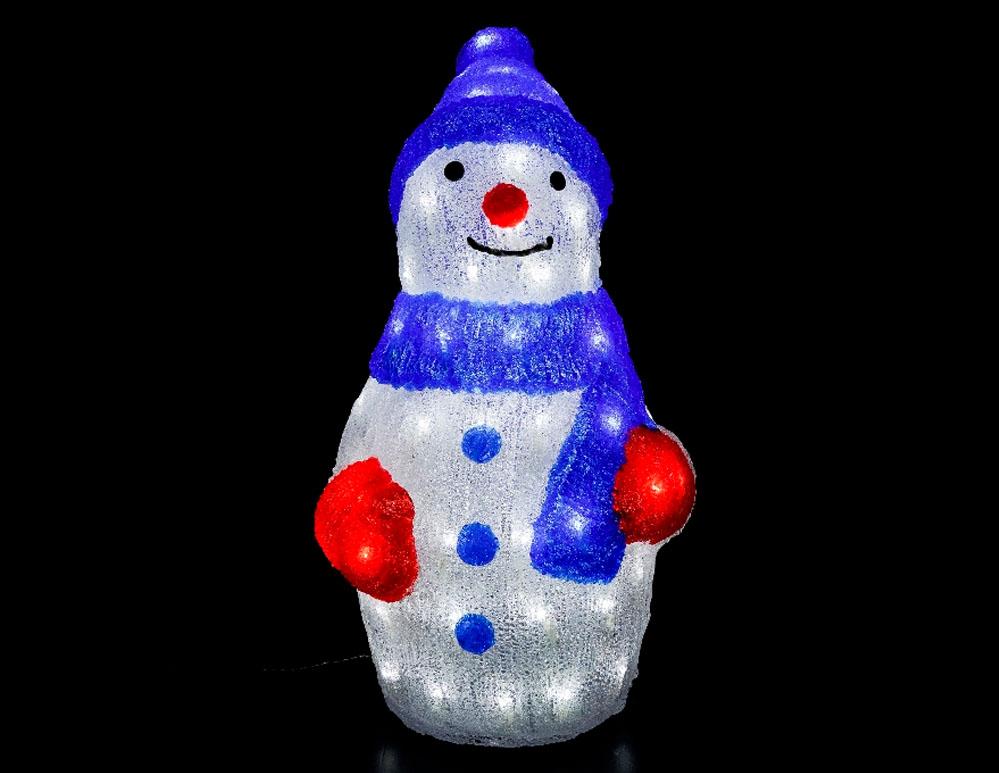 Muñeco de nieve Navidad para exteriores