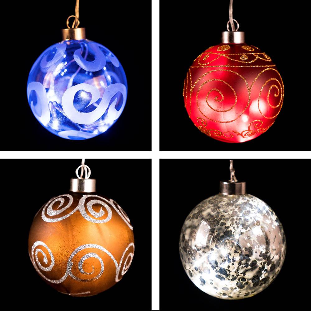 Bolas para árbol de navidad