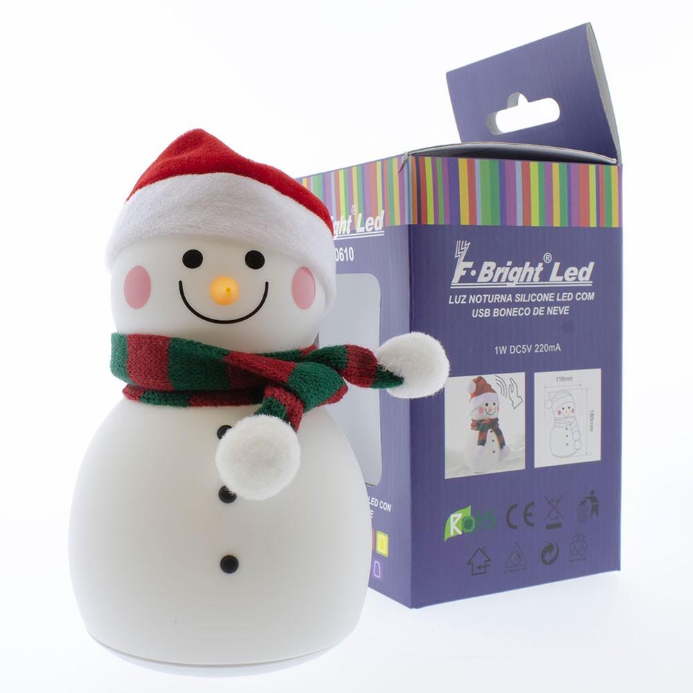 Muñeco de nieve musical para navidades