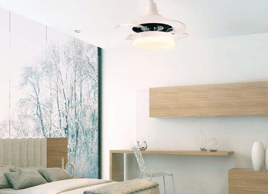 Ventilador para techo LED Bell