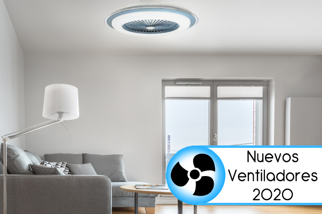 Ventiladores de techo con luz para estancias modernas Blog