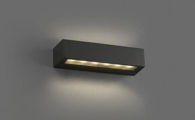 Aplique de exterior LED Doro (2x6,50W)